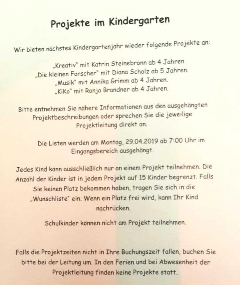 Projekte Herbst 2019 Info über Eintragung Und Mehr